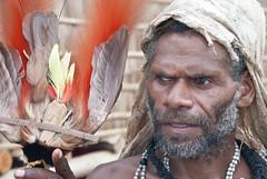 Robin of Onu village (Sven Rudolf Jan) Tags: traditional birdofparadise papuanewguinea alotau canoeandkundufestival
