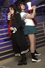 Komaru Naegi & Toko Fukawa (Lyon Hart Photography) Tags: girls anime cute nerd happy photography geek cosplay geeks kawaii cosplayer trigger geekgirl toku fukawa dangan geekgirls naegi komaru ikkicon cosplaygirl cosplaygirls cosplayphotography danganronpa ronpa ikkicon2015