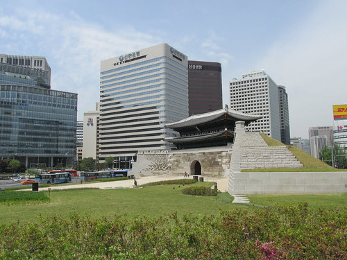 Namdaemun Gate, Séoul, Corée du Sud