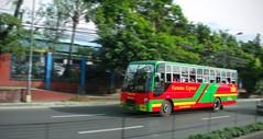 Fermina on its way to commonwealth (bhettina limchu) Tags: bus philippines express quezoncity isuzu eastavenue 764 hataw fermina almazora ordinaryfare cityoperation
