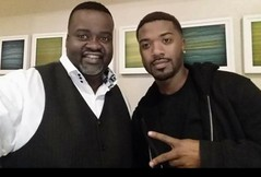T-Mar and Ray J at Sing-a-rama 2015