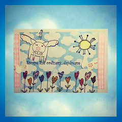 Mailart (Stampinkie) Tags: handmade mailart rubberstamping outgoing happymail stampotique