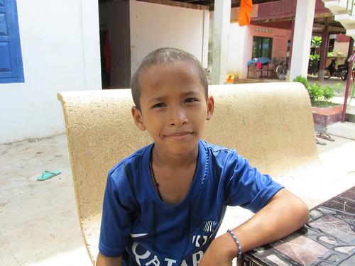 Hébergés chez Samsan, Cambodge