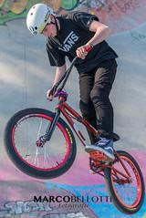 DSC_1849 (MarcoBellotti) Tags: color bike bicycle sport happy nikon colore skaters crew skatepark skate d750 biker skater felice stunt racer acrobatic bicicletta felicità acrobatico