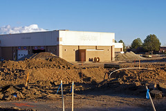 Mall Construction 2-17-15 (City of Fort Collins, CO) Tags: new tractor mall workers construction deconstruct sears demolition equipment stores forklift construct ura