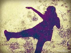 dancing with my shadow (braziliana13) Tags: flowers shadow me myself spring nikon dancing outdoor ground greece imagination while capture sunnyday elenafouraki