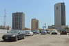 Parking lot (Francisco Anzola) Tags: hot cars buildings towers middleeast clear kuwait gcc kuwaitcity persiangulf