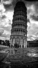 The Architect - 2016 EyeEm Awards Tourists Historical Sights Bw_collection Blackandwhite Monochrome Black And White Water Reflections at Torre di Pisa (juanlcostas) Tags: blackandwhite monochrome tourists waterreflections historicalsights bwcollection thearchitect2016eyeemawards