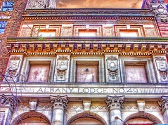 Albany ~ New York ~ Wellington Row ~ Albany Elks Lodge No 49 (Onasill ~ Bill Badzo) Tags: street ny newyork architecture facade downtown state district no victorian row historic lodge number 49 abandon wellington albany historical register development portico elks 138 albanycounty nrhp bope onasill