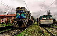 Buenuraqui (Sebastin Betancourt) Tags: chile tren diesel estacion locomotive region locomotora transporte ferrocarril alco carga fepasa a306 d18 octavaregion biobo viaferrea lineadeltren ferrocarrilesdelestado redsur buenuraqui ramalsanrosendotalcahuano ferrocarrildelpacfico