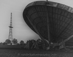 RAF Stenigot Dish (Howie1967) Tags: white black tower film movie dish lofi radar raf stenigot