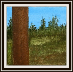 Not out of the woods yet (diffuse) Tags: tree forest painting acrylic trunk ncsa bydiffuse 16may26a