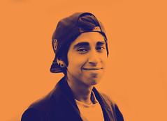 Foto - 28192 (-`'Mutant Happiness'-) Tags: chile boy portrait color photography la map happiness photograph indie gradient cannon serena mutant effect karina fotografo fotografa espinoza kariiwho