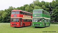 A fine pair of Bristols..... (Scatmancraig1974) Tags: ocs577h ocs 577h jvl619h jvl 619h bristol vr vrt series 1 mk1 ecw eastern coach works flat front double deck decker bus lincolnshire roadcar lincs road car lrcc 1904 milton keynes borough council play western smt richardson brothers oldbury non psv pcv bridlington craig schofield scatmancraig