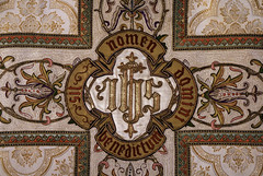 Holy Name of Jesus (Lawrence OP) Tags: embroidery jesus salvation ihs chasuble saviour vestment holyname
