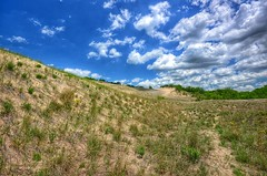 Dunes Expanse (mswan777) Tags: park blue sky grass clouds sand nikon hiking michigan dunes sigma trail tall 1020mm expanse d5100