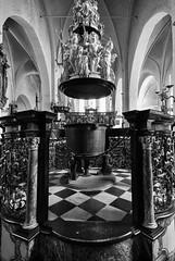 Aegidienkirche (Seedeich) Tags: bw luebeck v1 6713mmf3556vrn1