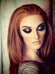 Decter Mannequin (capricornus61) Tags: portrait woman art mannequin window face shop female doll dummies display body indoor hobby dummy schaufensterpuppe figur collecting puppe schaufensterfigur
