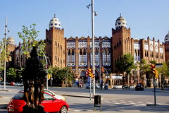 BCN Monumental Plaza de Toros (gerard eder) Tags: world barcelona plaza city travel espaa de spain europa europe ciudades toros stdte catalua spanien bullfighting reise metropole monumental