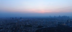 Dusky Roppongi Hills (New Dan) Tags: sunset panorama japan tokyo dusk hills roppongi dusky hugin tokyolo