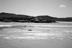 BWJPG---IMG_6400 (r4ytr4ce) Tags: ireland blackandwhite beach landscape 50mm boat eire donegal ire trchonnaill