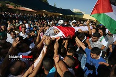 Palestinian teen 'mistakenly' killed by Israeli soldier laid to rest (TeamPalestina) Tags: heritage photo photographer natural live palestine westbank ramallah innocent ramadan freepalestine photooftheday picoftheday palestinian occupation  issamalrimawi