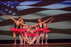 Recital Time (Francine Schumpert) Tags: ballet dance flag americanflag patriotic repetition usflag dancerecital nikond810