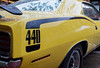 1970 Plymouth Cuda 440 (AlecTheRed) Tags: vintage ontario automotivephotography americancar carphotography cardetails detailshots macro carshow carshowphotography classiccar vehicle worldcars musclecars car yellow plymouth nikkor