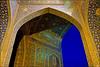 Shah Mosque (Poria) Tags: sky urban art tourism architecture persian ancient arch view iran religion arc persia mosque historic ایران esfahan isfahan shah imam turism irani اصفهان مسجد persianart persianarchitecture architecht تاریخی