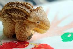 Roaaar (Benn Gunn Baker) Tags: water canon bristol toy baker play dinosaur egg benn gunn cracking hatching 550d t2i