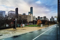 After the Rain - MECC (Looking Glass) Tags: bikepath melbourne rialto melbourneexhibitioncentre melbourneexhibitionandconventioncentre southwharf instagram ifttt