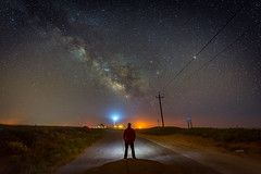 Taking a Moment (Wilson Lam {WLQ}) Tags: california fog stars coast pigeonpoint milkyway selfie takeamoment