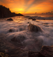 Wave Attack (Jose Hamra Images) Tags: karangasem bali denpasar prasi sunset sunrise landscape