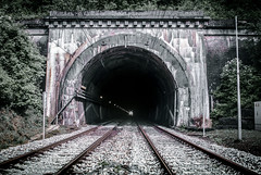 Tunnel de la Galope (bas.handels) Tags: belgium belgi tunnel rails spoor railtrack spoorweg galope galoppe