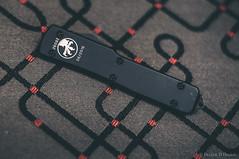 MicroTech UTX-70 (Quad D) Tags: knife knives edc 50mmf18 microtech nikond90 microtechutx70 utx70 smallcary officeedc