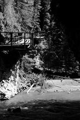 Walkway (Jori209) Tags: canada water creek canyon alberta pathway johnston banffnationalpark johnstoncanyon johnstoncreek