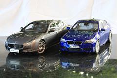 IMG_2718 (Alex_sz1996) Tags: f10 bmw m5 maserati gts 118 paragon quattroporte autoart