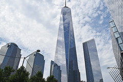 Picture Of One And Seven World Trade Center Taken At Ground Zero. Photo Taken Monday June 27, 2016 (ses7) Tags: world center trade oneseven