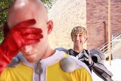 IMG_0009 (firecloak) Tags: male cosplay hero superhero cyborg opm akon genos onepunchman