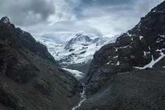 Lyskamm (Babette de Jong.) Tags: snow alps clouds switzerland glacier zermatt gletscher lyskamm