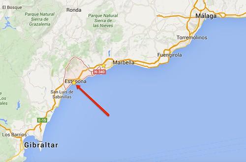 Estepona Map