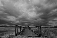 This Old Dock (raincoast72) Tags: blackandwhite bw island dock spit lagoon sidney