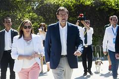 Mariano Rajoy ejerciendo su derecho a voto (Partido Popular) Tags: rajoy marianorajoy rajoypp