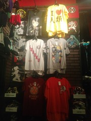 Hot Topic Anime Shirts (Conversus Vans (Paul Prosser)) Tags: moon anime shirt ball death dragon attack note pokemon z sailor titan hatsune miku dbz