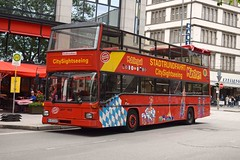 Sightseeing MAN (MCW1987) Tags: city man mnchen tour open with top union sightseeing an waggon bodywork sd202 myc1149