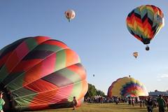 Balloonfest (historygradguy (jobhunting)) Tags: ny newyork balloons balloon upstate hotairballoon hotairballoons balloonfest ballstonspa saratogacounty saratogacountyfairgrounds