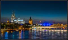 Kln / Cologne (rapp_henry) Tags: classic night lights nikon nightshot dom cologne fluss rhine rhein lichter worldheritage nachtaufnahme weltkulturerbe d800 wahrzeichen nikon2470mm28