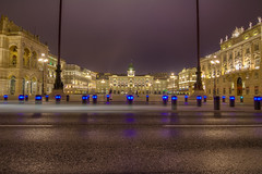 Trieste Square at Night (nicoozzy007) Tags: city trieste italy triestecity mediterranean square evening night lights beautiful romantic grand longexposure 1116 tokina nikon