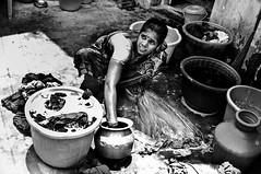 Why do some Indian girls get treated this way? Chennai, India. (SUNA_PHOTOGRAPHY) Tags: blackandwhite bw india monochrome photojournalism documentary feminism chennai indianculture