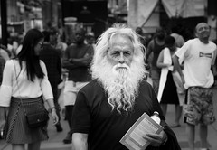 How I found the Messiah (QC Doc) Tags: portrait people toronto beard faces candid streetphotography